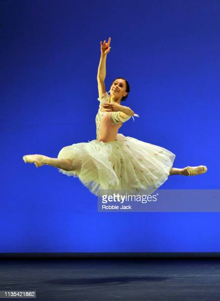 Marianela Nunez in La Fille mal Gardee a section from Annette Page Tribute to a Ballerina at The Linbury Theatre The Royal Opera House on March 12...