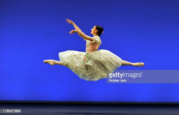Marianela Nunez in La Fille mal Gardee from the Annette Page Tribute to a Ballerina at The Linbury Theatre The Royal Opera House on March 12 2019 in...