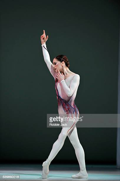 Marianela Nunez in the Royal Ballet's production of Kenneth MacMillan's Requiem at the Royal Opera House Covent Garden in London.