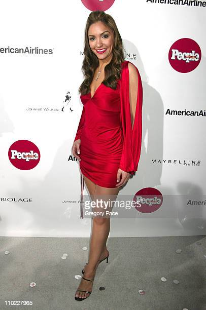 Marianela Pereyra during People En Espanol's 4th Annual 50 Most Beautiful Gala White Carpet Arrivals at Capitale in New York City New York United...