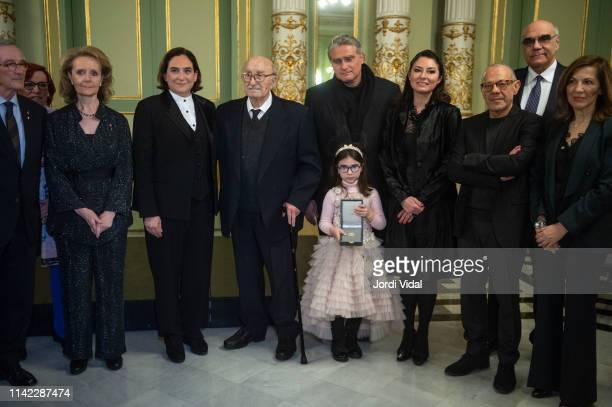 Mariangela Villalonga The Mayor of Barcelona Ada Colau Montserrat Caballe husband Bernabe Marti son Bernabe Marti Caballe graddaughter Daniela...