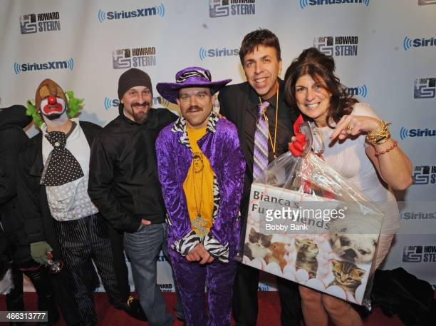 Mariann from Brooklyn and the Wack Pack at SiriusXM's Howard Stern Birthday Bash at Hammerstein Ballroom on January 31 2014 in New York City