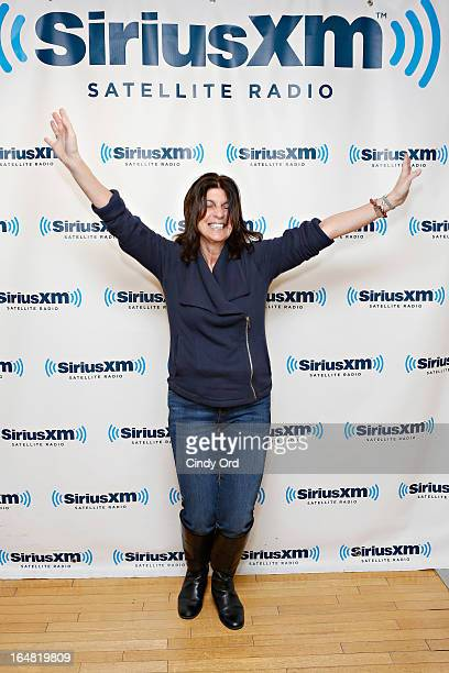 Mariann from Brooklyn visits the SiriusXM Studios on March 28 2013 in New York City