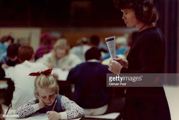 Mariann Johnson teacher and Rachel Kelly student Credit Denver Post