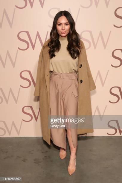 Marianna Hewitt attends Stuart Weitzman Spring Celebration 2019 on February 12 2019 in New York City