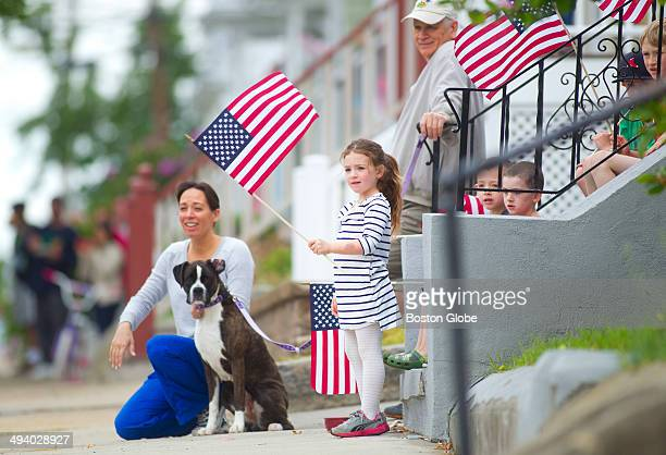 Marianna LaMonica enjoyed the Cedar Grove Memorial Day Parade with her first cousins her mother Jill LaMonica dog Layla and grandfather and decorated...