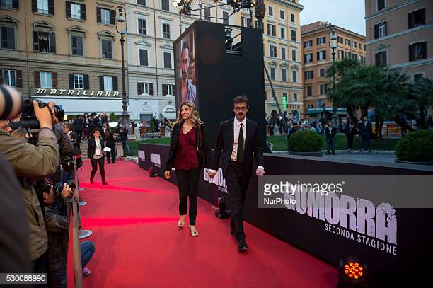 Marianna Madia attends the 'Gomorra 2 - La serie' on red carpets at The Teatro dell'Opera in Rome, Italy on May 10, 2016.