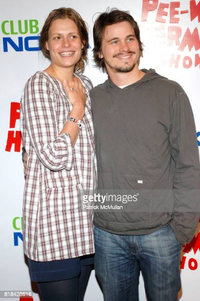 Marianna Palka and Jason Ritter attend The Pee Wee Herman Show Opening Night at Club Nokia on January 20 2010 in Los Angeles California