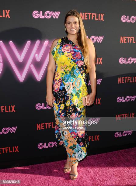 Marianna Palka attends the premiere of 'GLOW' at The Cinerama Dome on June 21 2017 in Los Angeles California