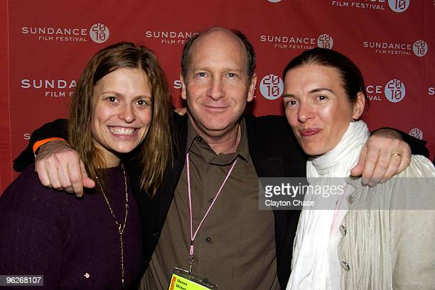 Marianna Palka Doron Weber and Diane Bell attend the Alfred P Sloan Foundation Reception during the 2010 Sundance Film Festival at Filmmaker Lodge on...