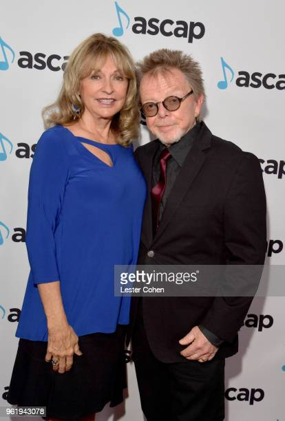 Marianna Williams and ASCAP President Paul Williams attend the 33rd Annual ASCAP Screen Music Awards at The Beverly Hilton Hotel on May 23 2018 in...