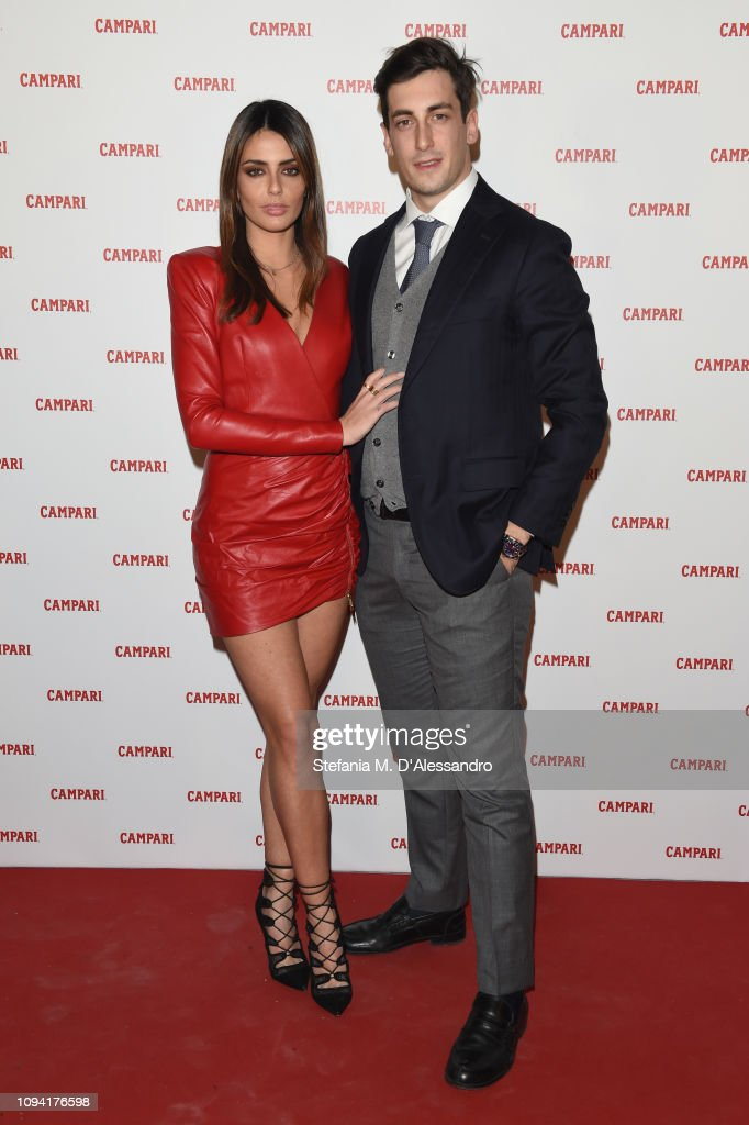 cc9a8e145d0 Marianna Zuliani and Stefano Pierangelo attend Campari Red Diaries ...
