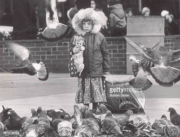 Marianne Carpenter of Newton helped her mother with some last minute Christmas shopping in downtown Boston She didn't look enthusiastic about...