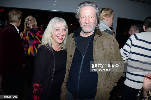 Marianne Cooper and Chris Cooper attend New York Special Screening Of A Beautiful Day In The Neighborhood After Party at Le District Restaurant on...