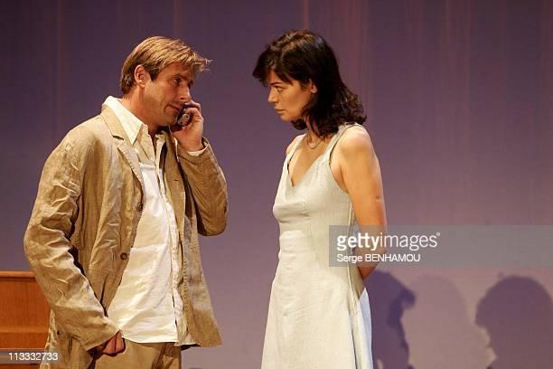 Marianne Denicourt And Bernard Yerles Play La Musica On September 23Rd 2005 In Paris France Here Bernard Yerles And Marianne Denicourt
