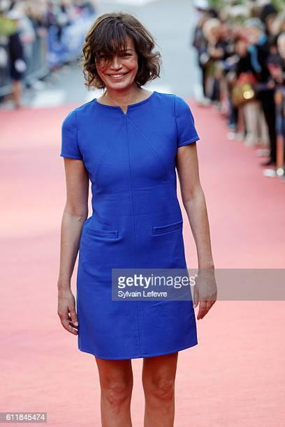 Marianne Denicourt attends closing ceremony of 27th Dinard British Film Festival on October 1 2016 in Dinard France