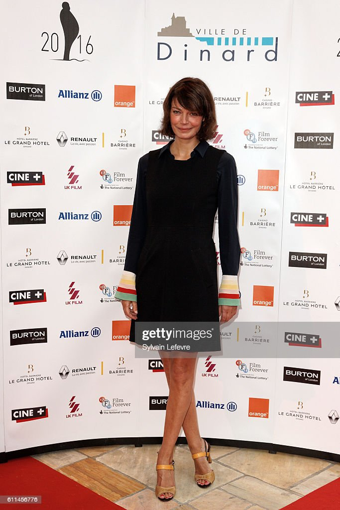 Marianne Denicourt attends opening ceremony of 27th Dinard British Film Festival on September 29, 2016 in Dinard, France.