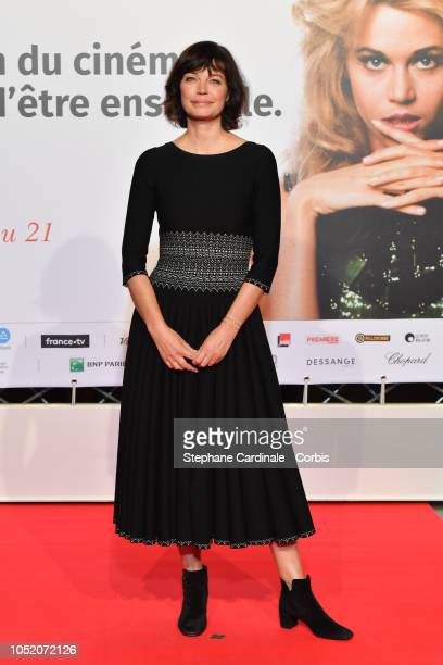 Marianne Denicourt attends the opening ceremony during the 10th Film Festival Lumiere on October 13 2018 in Lyon France