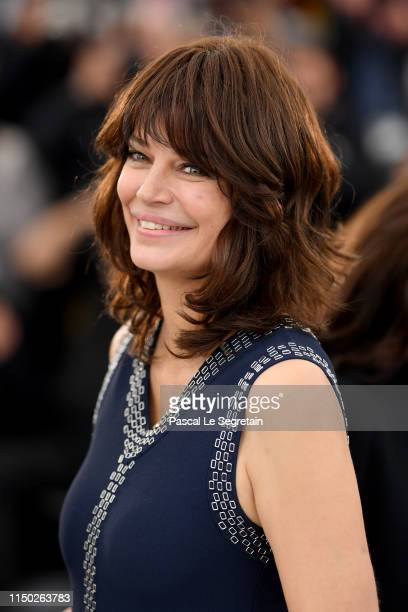 Marianne Denicourt attends the photocall for The Best Years of a Life during the 72nd annual Cannes Film Festival on May 19 2019 in Cannes France