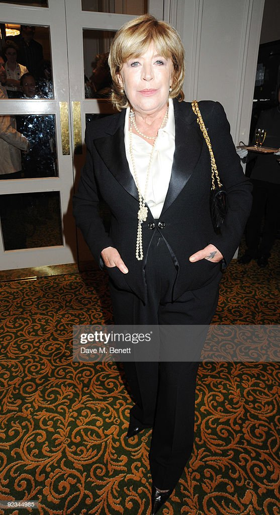 Marianne Faithful arrives at The Q Awards 2009, at the Grosvenor House on October 26, 2009 in London, England.
