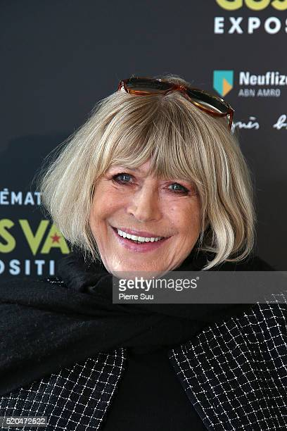 Marianne Faithfull attends the Gus Van Sant Retrospective at la cinematheque on April 11 2016 in Paris France
