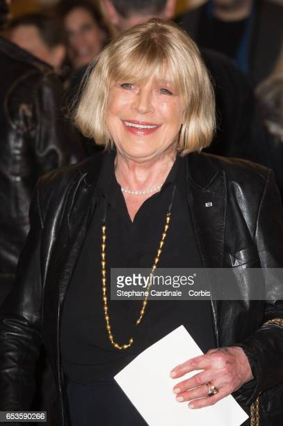 """Marianne Faithfull attends the Marie-Agnes Gillot decoration's ceremony of """"Chevalier de l'ordre national de la Legion d'honneur"""" at French Culture..."""