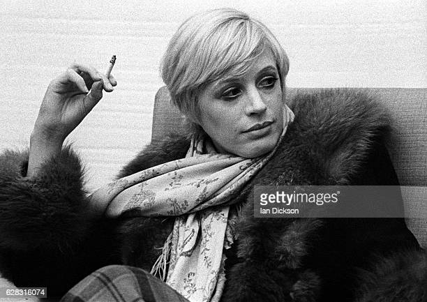Marianne Faithfull is interviewed in London for New Musical Express January 1974