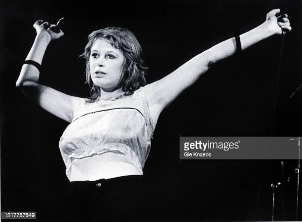 Marianne Faithfull, Paradiso, Amsterdam, Netherlands, 1977.
