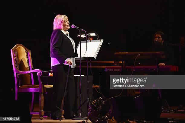 Marianne Faithfull performs at Auditorium Di Milano on October 27 2014 in Milan Italy