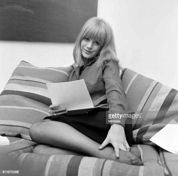 Marianne faithfull 1960s pictures and photos getty images marianne faithfull photoshoot at her flat 31st october 1964 altavistaventures Image collections