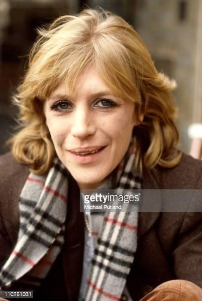 Marianne Faithfull portrait London June 1982