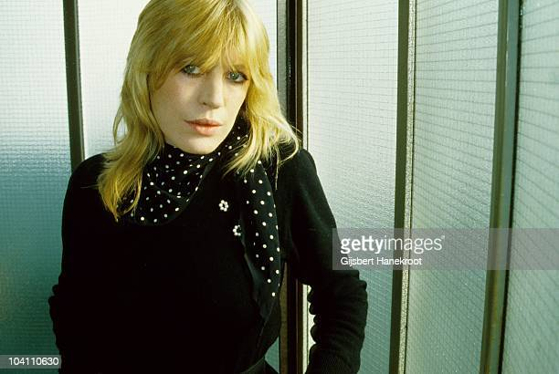 Marianne Faithfull poses for a portrait in 1976 in London