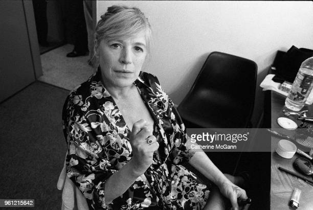 Marianne Faithfull poses for a portrait in 1994 in New York City, New York.