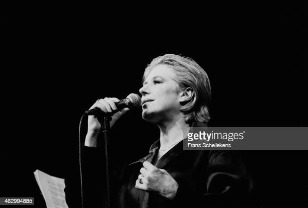Marianne Faithfull vocal performs at Carre on 13th May 1990 in Amsterdam the Netherlands