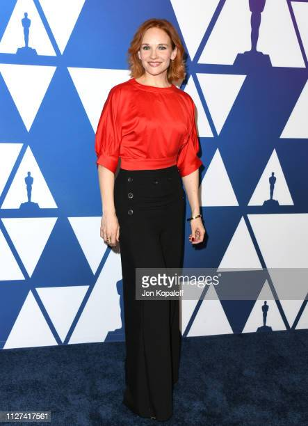 Marianne Farley attends the 91st Oscars Nominees Luncheon at The Beverly Hilton Hotel on February 04 2019 in Beverly Hills California
