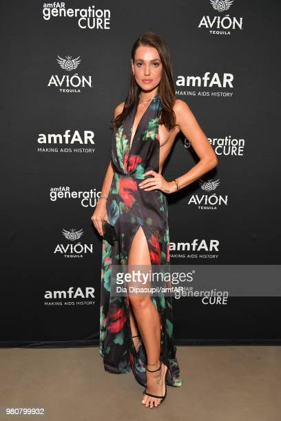 Marianne Fonseca attends the amfAR GenCure Solstice 2018 on June 21 2018 in New York City