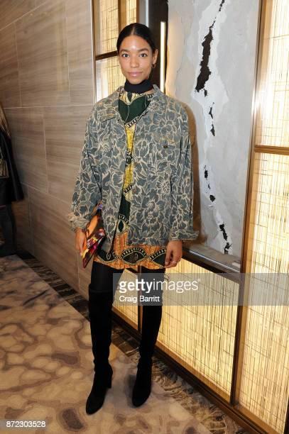 Marianne Garces attends SOURCE NATURE at Park Hyatt New York on November 9 2017 in New York City