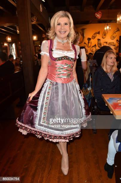 Marianne Hartl attends the Charity Lunch at 'Zur Bratwurst' during the Oktoberfest 2017 on September 20 2017 in Munich Germany