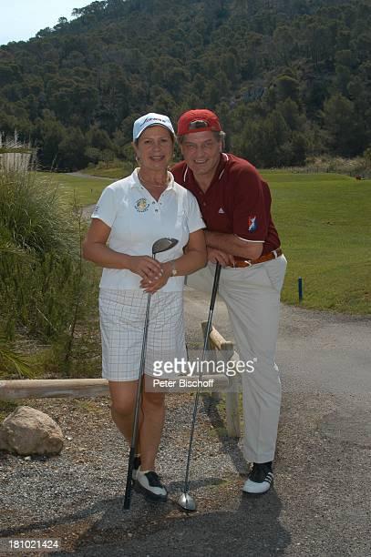 Marianne Hartl Ehemann Michael Hartl GolfTurnier Premiere Golf Trophy Camp de Mar/Mallorca/Balearen/Spanien Golf Club Golf de Andratx Sport...
