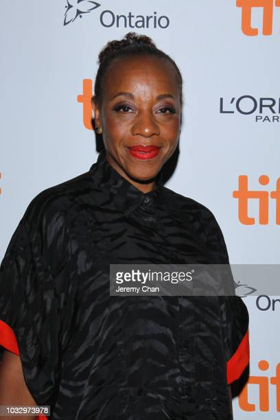 Marianne JeanBaptiste attends the 'In Fabric' premiere during 2018 Toronto International Film Festival at Ryerson Theatre on September 13 2018 in...