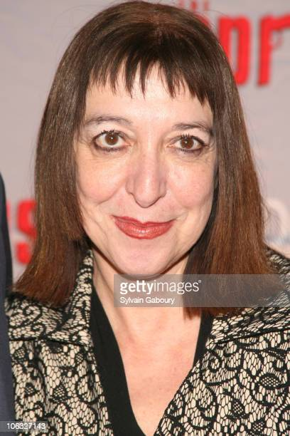 Marianne Leone during The Sopranos Final Season World Premiere Arrivals at Radio City Music Hall in New York City New York United States