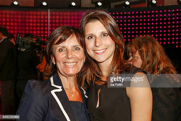 Marianne Mack and AnnKathrin Mack attend the Deutscher Gruenderpreis on July 5 2016 in Berlin Germany
