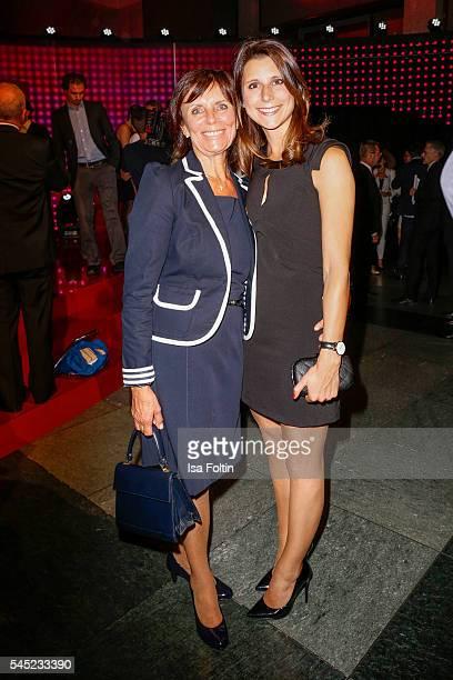 Marianne Mack and AnnKathrin Mack attend the Deutscher Gruenderpreis on July 5 2016 in Berlin Germany