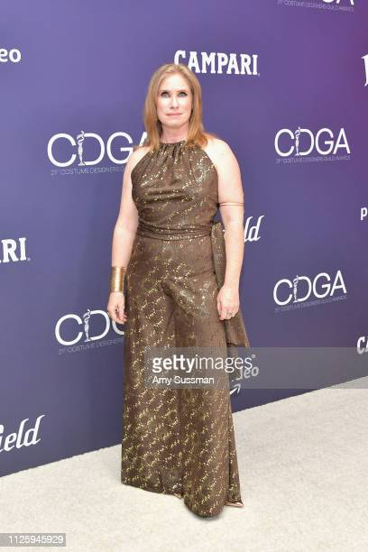 Marianne Parker attends The 21st CDGA at The Beverly Hilton Hotel on February 19 2019 in Beverly Hills California