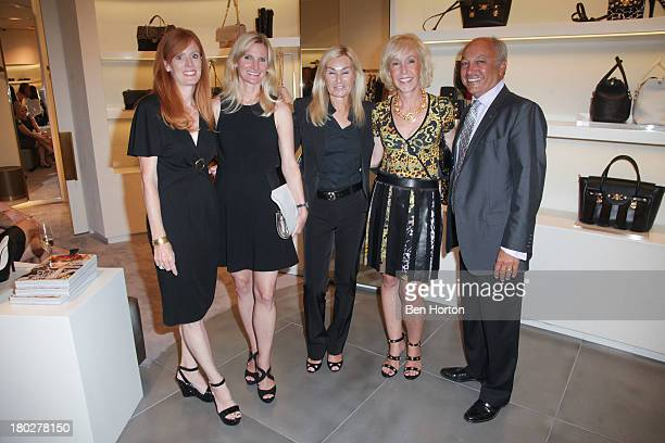 Marianne Payne Catherine kennett Ute Bonini Dana agamalian and John Agamalian attend the Versace JDRF Dream Guild of Orange County and Vogue Magazine...