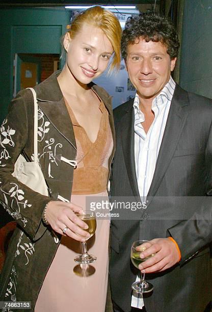 Marianne Petroskaya and Oz Garcia at the Angel Orensanz Foundation in New York City, New York