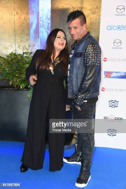 Marianne Rosenberg and Rico Bernasconi during the Alcatel Entertainment Night feat Music Meets Media at Sheraton Berlin Grand Hotel Esplanade on...