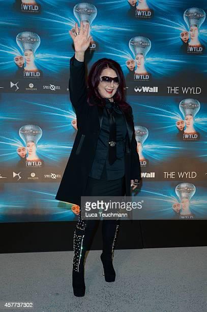Marianne Rosenberg attends 'The Wyld Nicht von dieser Welt' Premiere at FriedrichstadtPalast on October 23 2014 in Berlin Germany