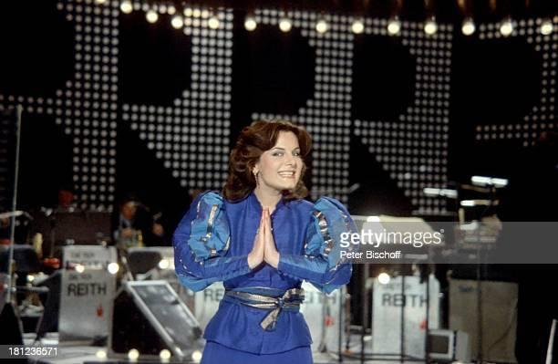 Marianne Rosenberg Auftritt Auftritt Bühne Sängerin Promis Prominente Prominenter