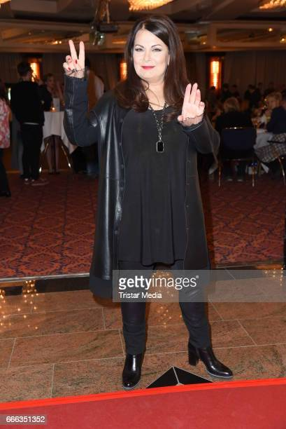 Marianne Rosenberg during the after show party of the television show 'Willkommen bei Carmen Nebel' on April 8 2017 in Magdeburg Germany